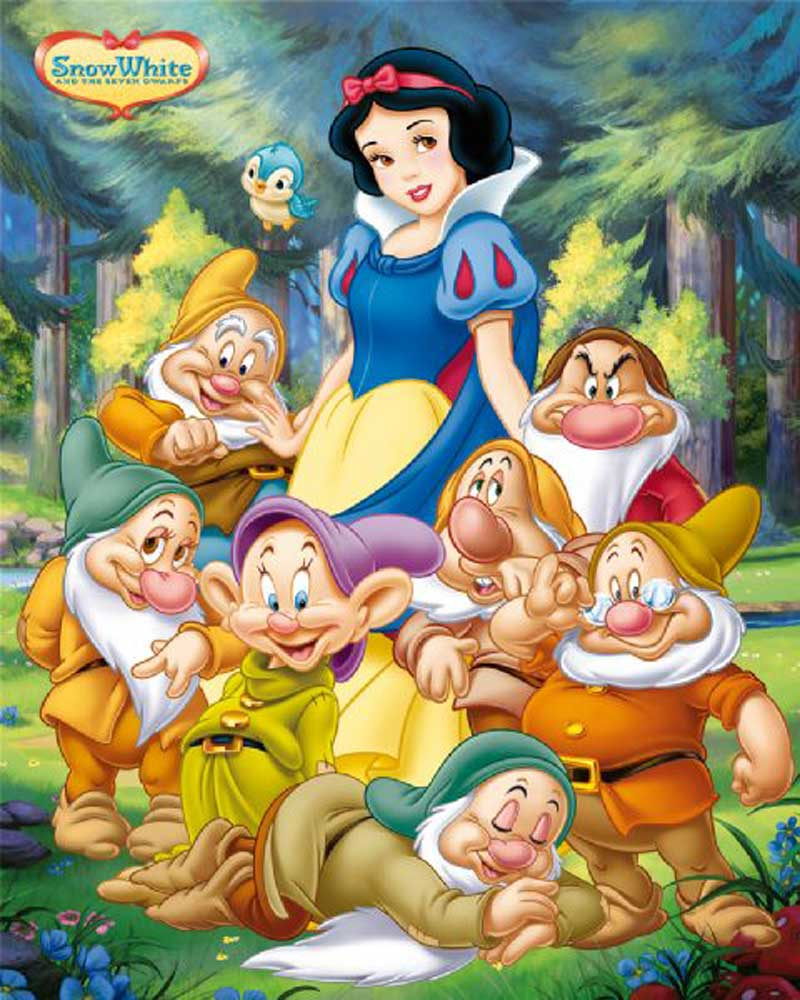 snow white and the seven dwarfs There has never been anything in the theatre quite like walt disney's snow white and the seven dwarfs, seven reels of animated cartoon in technicolor, unfolding an absorbingly interesting and, at times, thrilling entertainment.