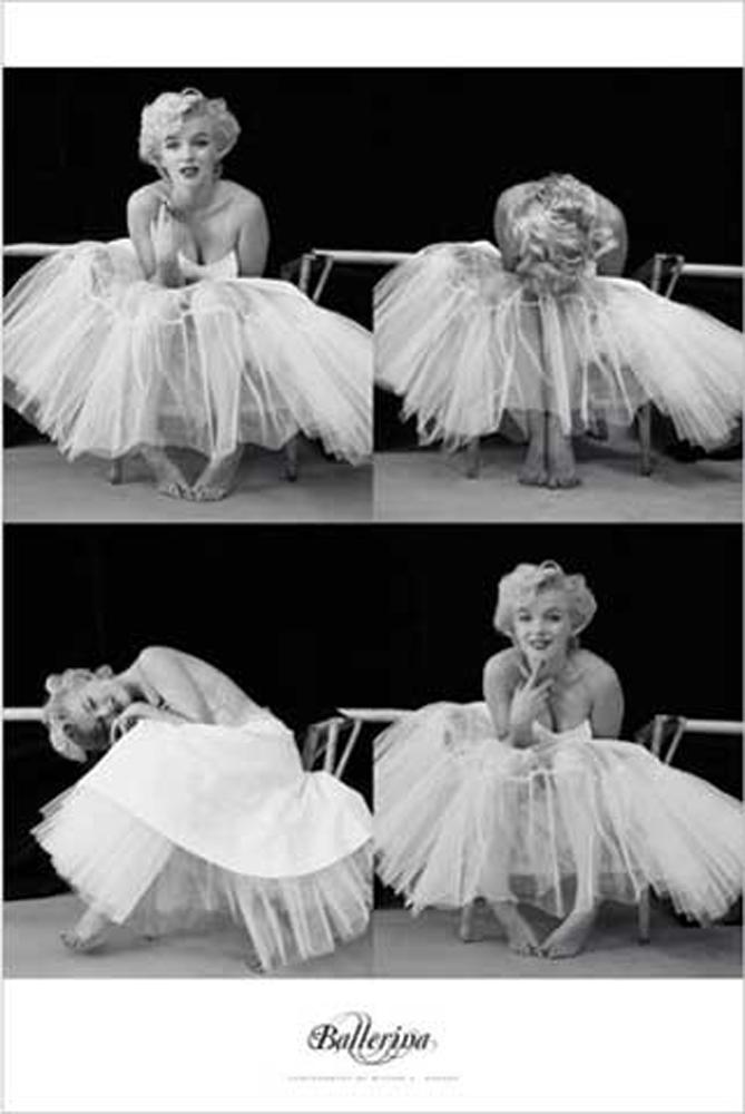 marilyn monroe ballerina sequence poster 61x91 5. Black Bedroom Furniture Sets. Home Design Ideas