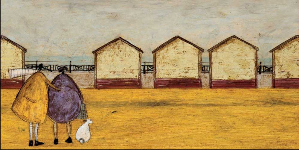 Beach Huts Sam Toft