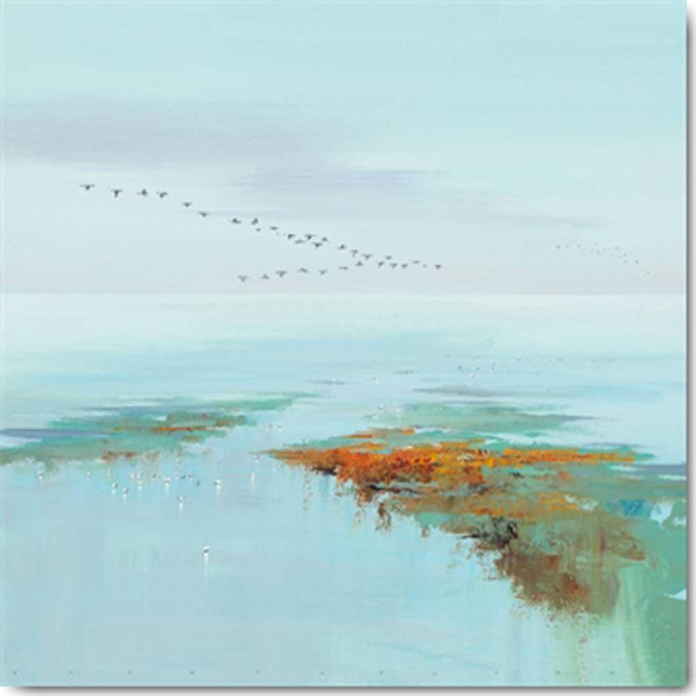 jan groenhart - flying birds - kunstdruck