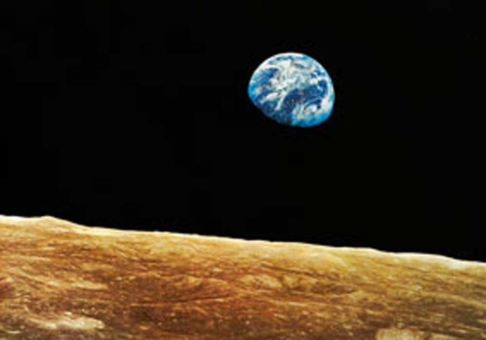 Apollo 8 Earth Rise NASA - Pics about space