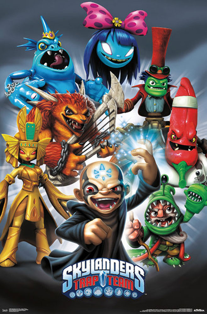 Skylanders - Trap Team Baddies - Poster - 61x91,5