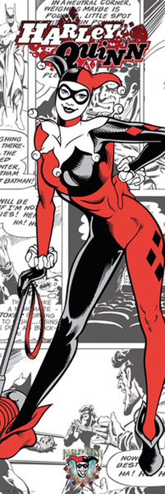 DC Comics Harley Quinn Comic Door Poster Poster PRINT Size 53x158 cm