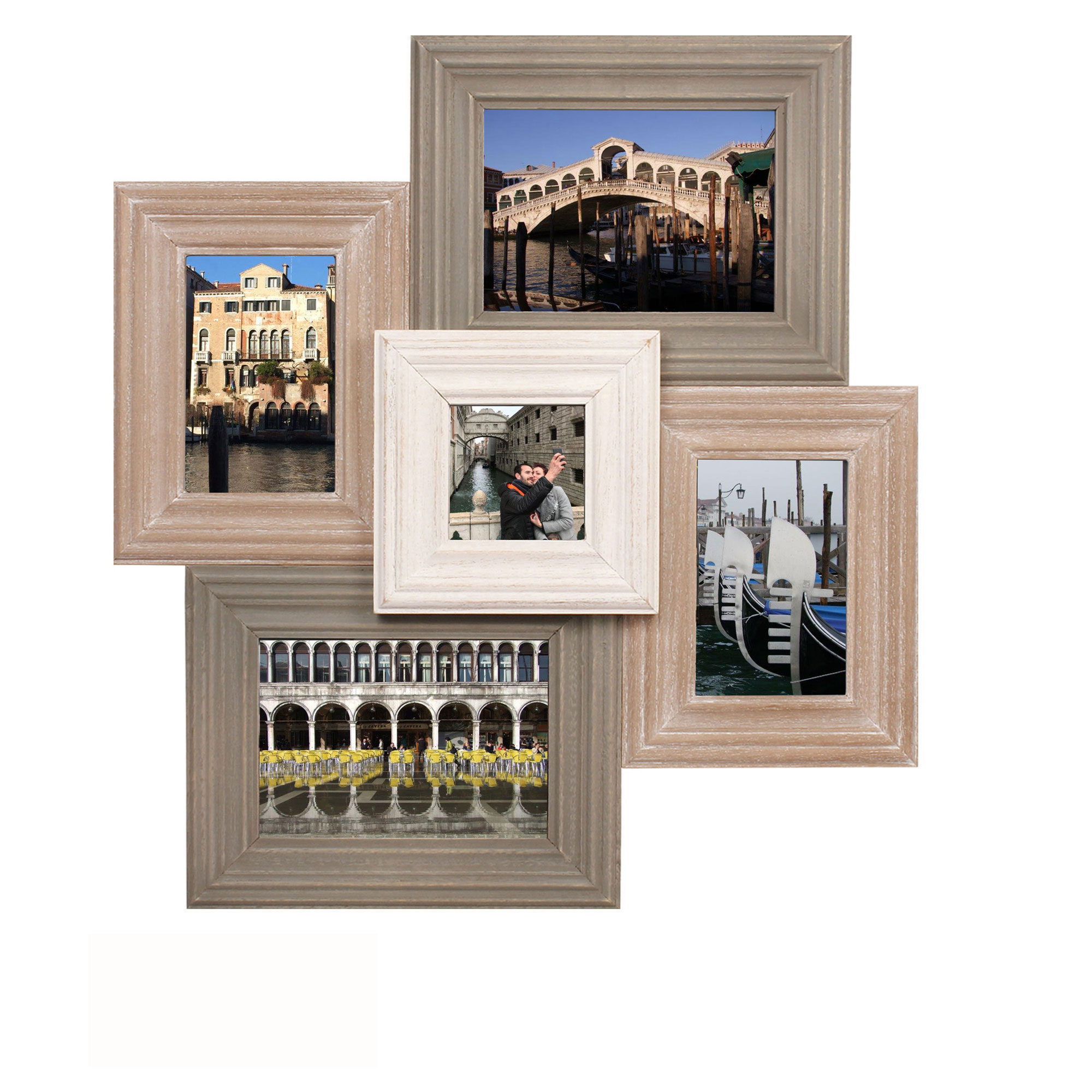 Collage Bilderrahmen - Catania Multishot - Wechselrahmen - 51x47