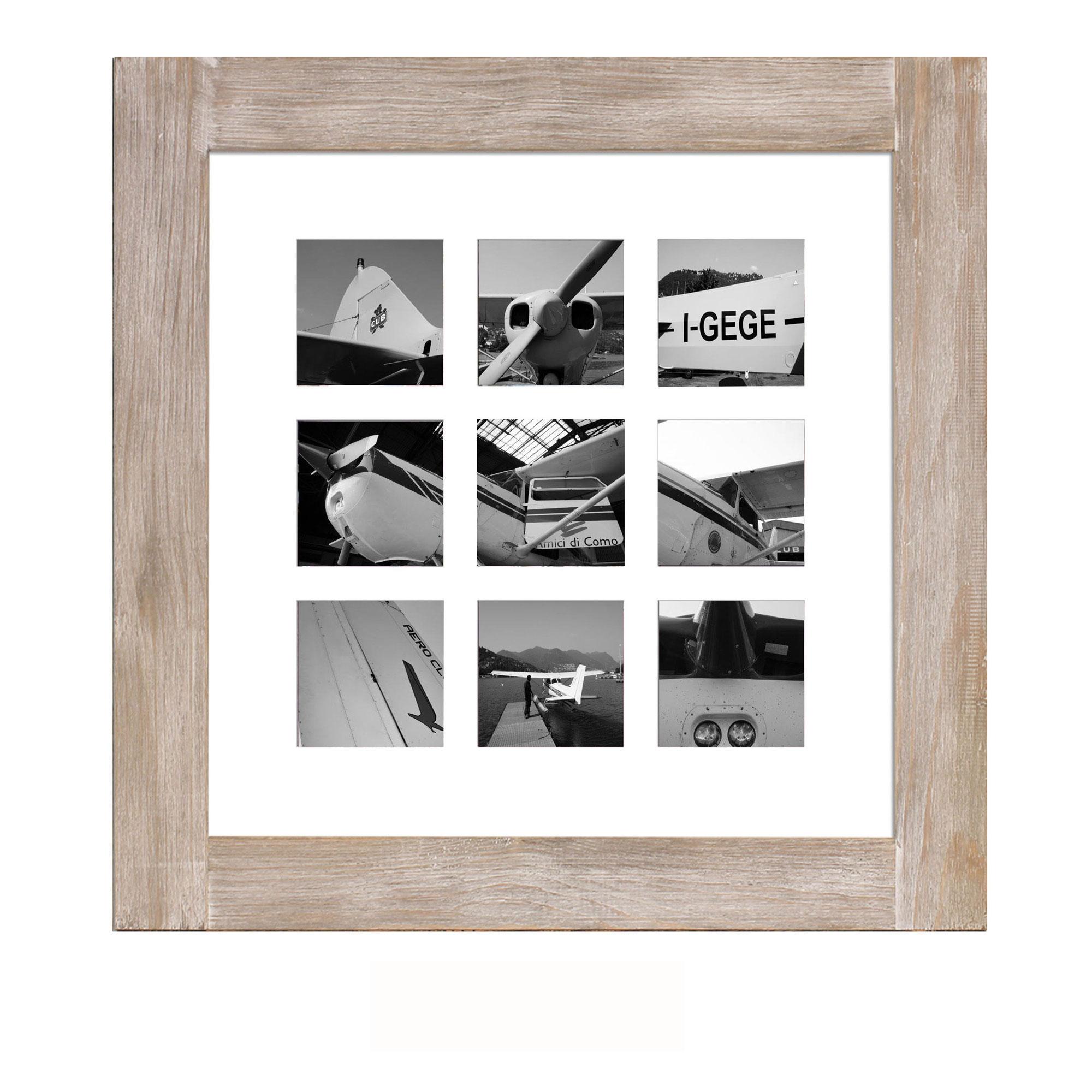 Collage Bilderrahmen - Kopenhagen greywash Multishot - Wechselrahmen ...