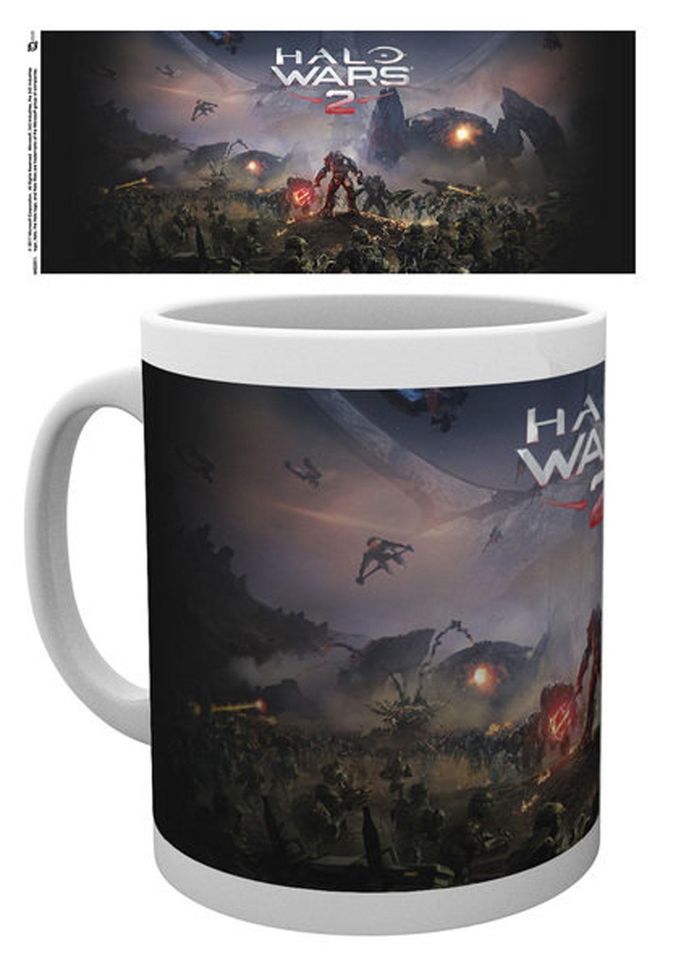Größe Ø8,5 H9,5cm Keramik Tasse Halo Wars 2 Key Art