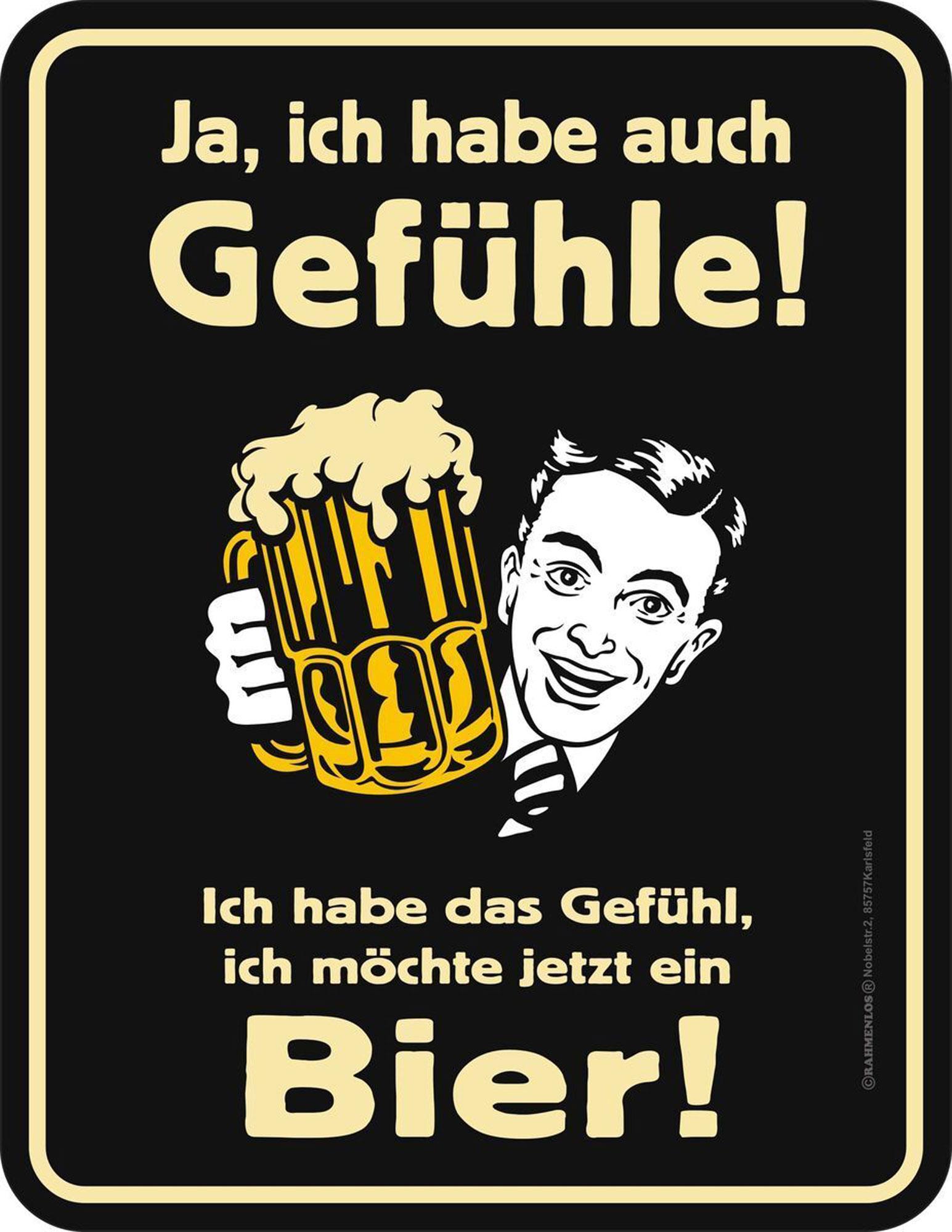 Beer - Ich habe auch Gefühle - Magnete - 7x9