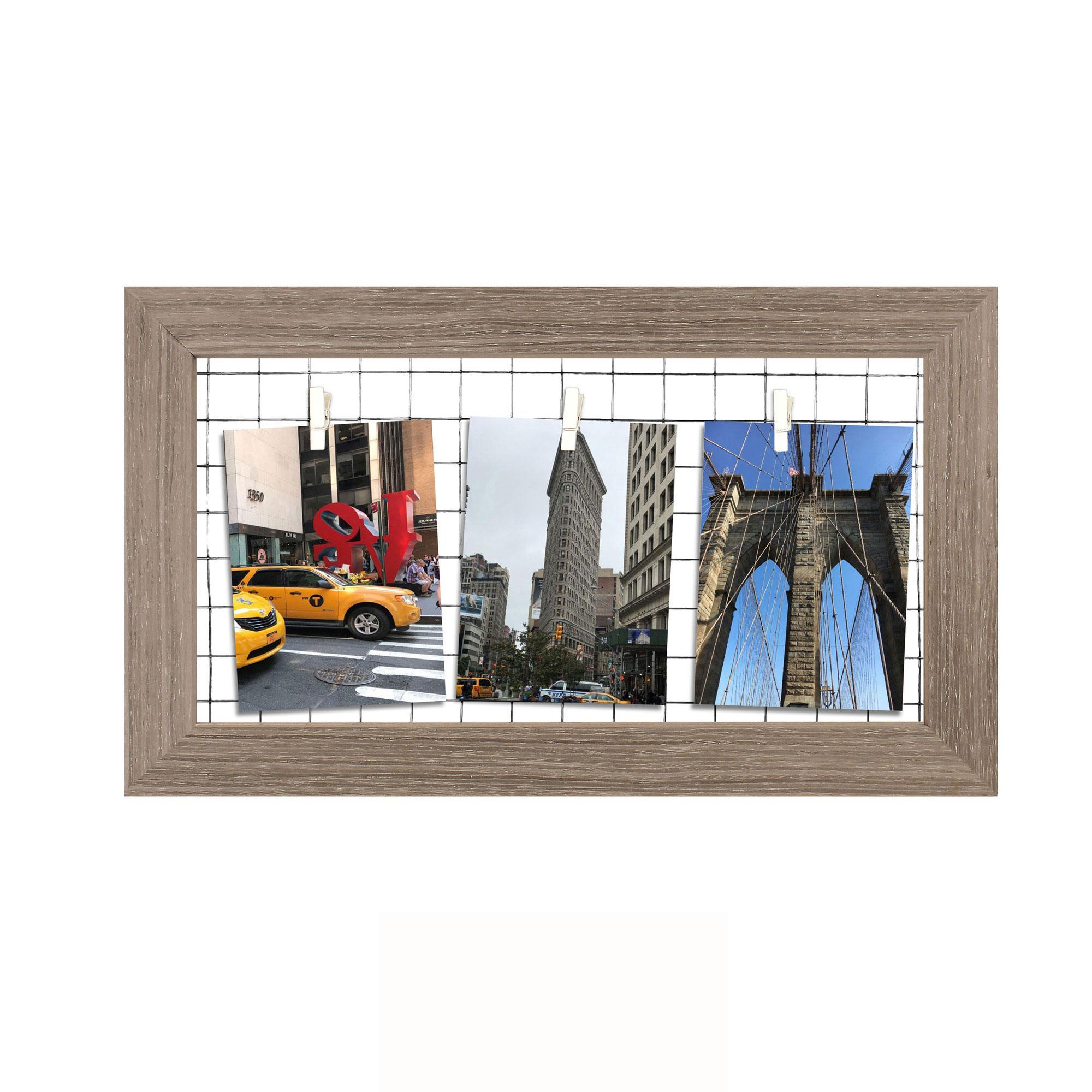 Holzrahmen - Montgomery - klein - Wechselrahmen - 48x28