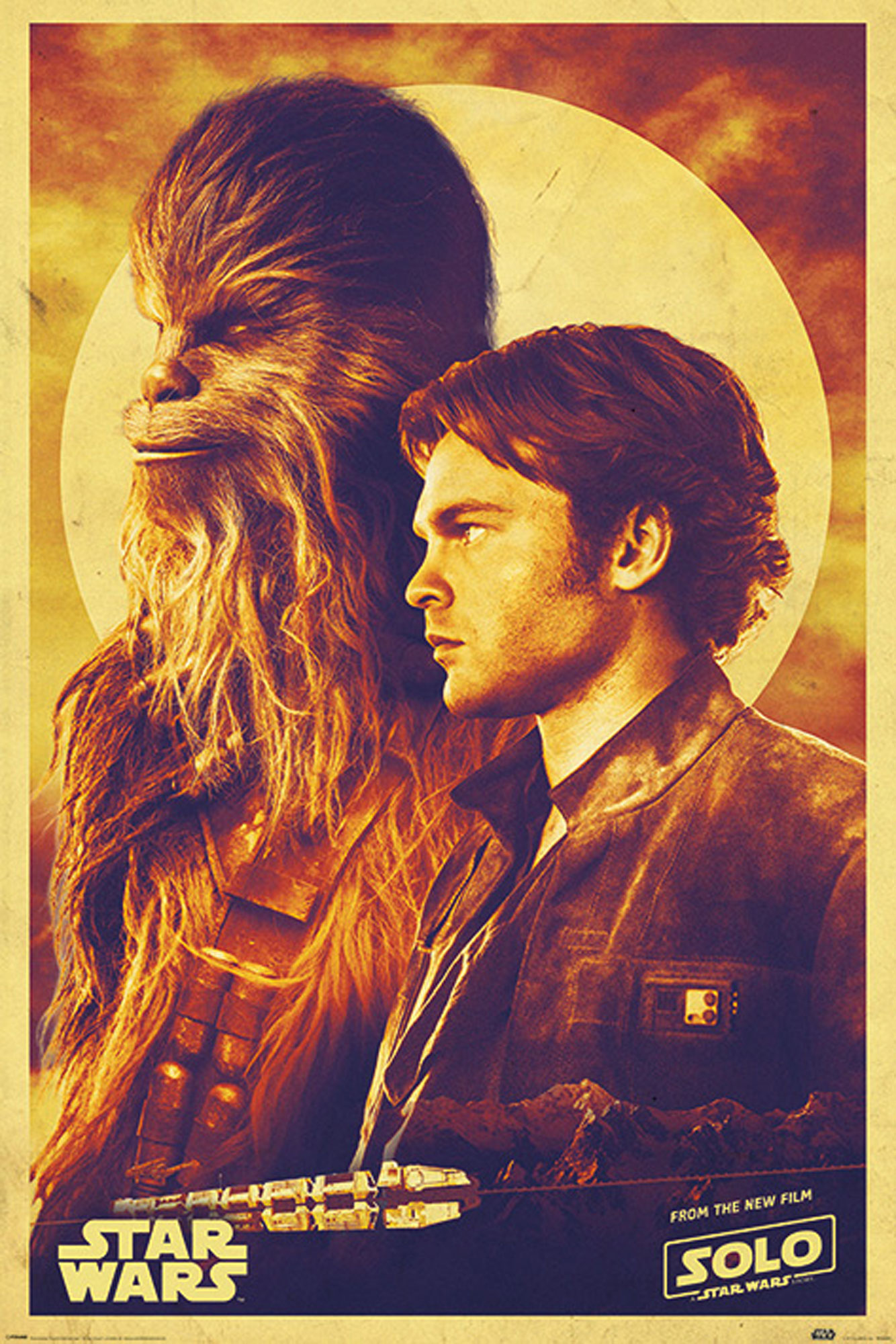 Solo: A Star Wars Story - Han and Chewie - Poster - 61x91,5