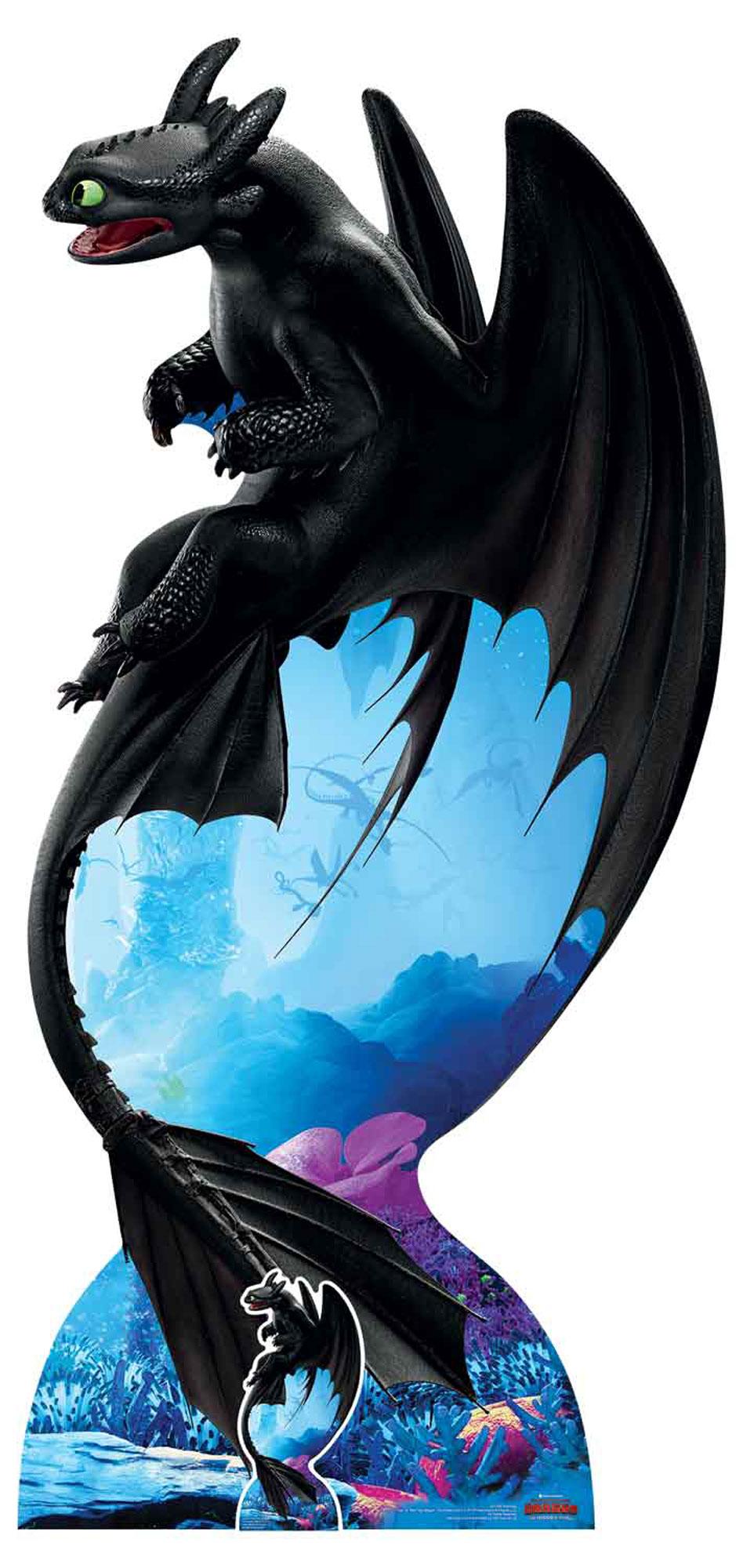 Dragons - How to train your Dragon 3 - Ohnezahn