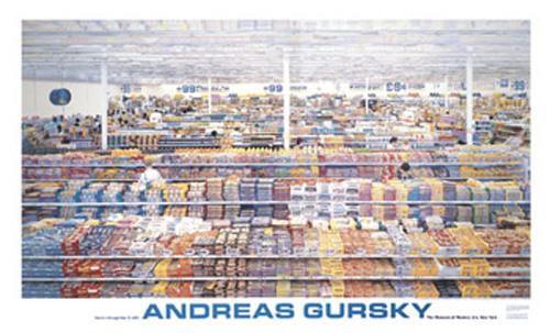 gursky 99 cent kunstdruck 86x142 88. Black Bedroom Furniture Sets. Home Design Ideas