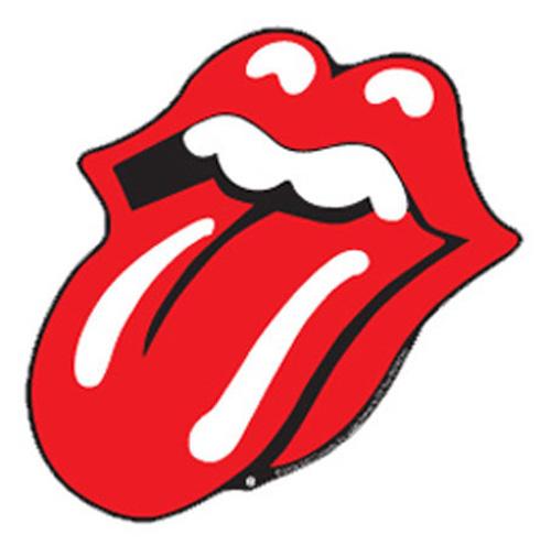 the rolling stones lips shape sticker ca10x7