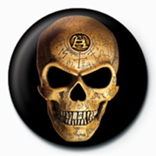 Alchemy - Button Badge - Omega Skull