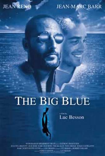 The Big Blue - Jean Reno, Jean-Marc Barr - Poster - 70x100