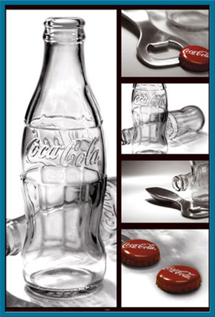 Coca Cola Poster Druck Größe 61x91,5 cm Stilleben