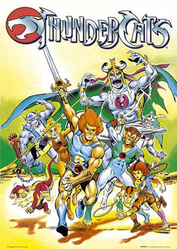 Thundercats Movie Characters on Thundercats   Characters   Poster   61x91 5
