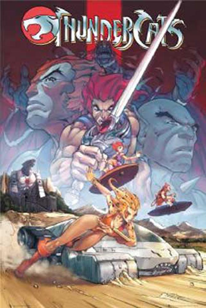 Thundercat Comics on Thundercats   Comic   Poster   61x91 5
