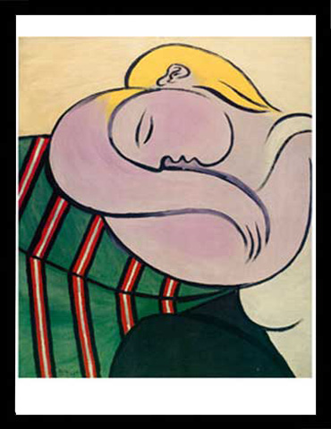 pablo picasso women with yellow hair 1 kunstdruck 50x70. Black Bedroom Furniture Sets. Home Design Ideas