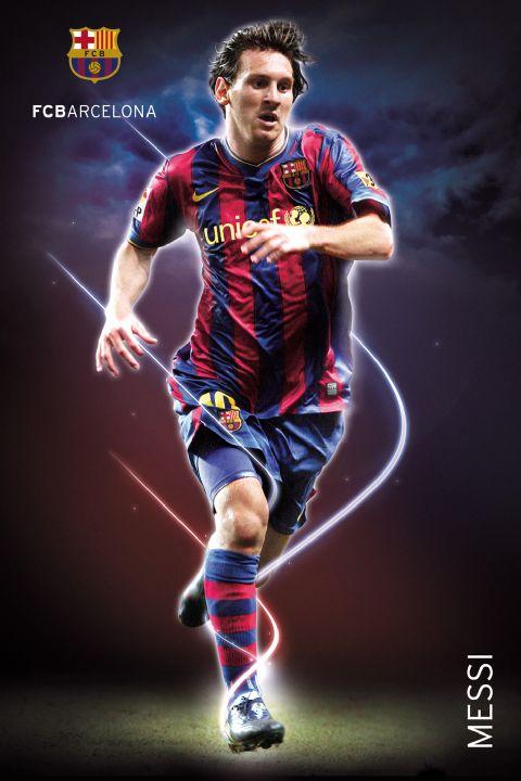fußball  barcelona  messi  poster  61x915
