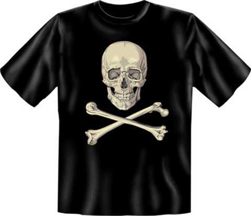 skull totenkopf t shirt textilien xxl. Black Bedroom Furniture Sets. Home Design Ideas