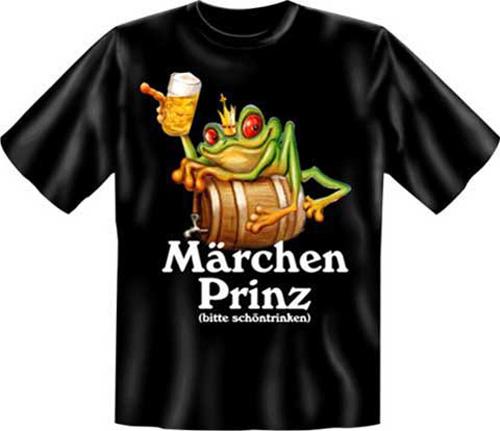 märchen prinz  tshirt  textilien  xxl