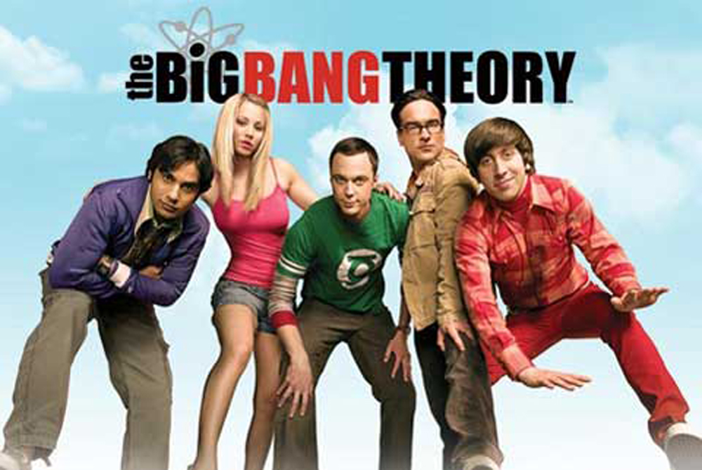 The Big Bang Theory - Poster - Sky