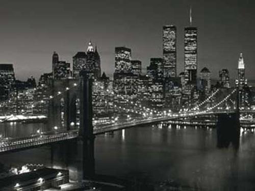 richard berenholtz manhattan skyline at night new york kunstdruck 80x60. Black Bedroom Furniture Sets. Home Design Ideas
