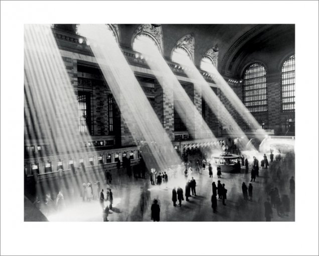 New York - Kunstdruck / Art Poster - Grand Central Station New York