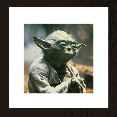 Star Wars - Yoda - Kunstdruck - 40x40