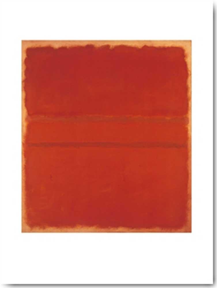 1953 Rothko Mark Größe 71x86 cm Untitled Kunstdruck