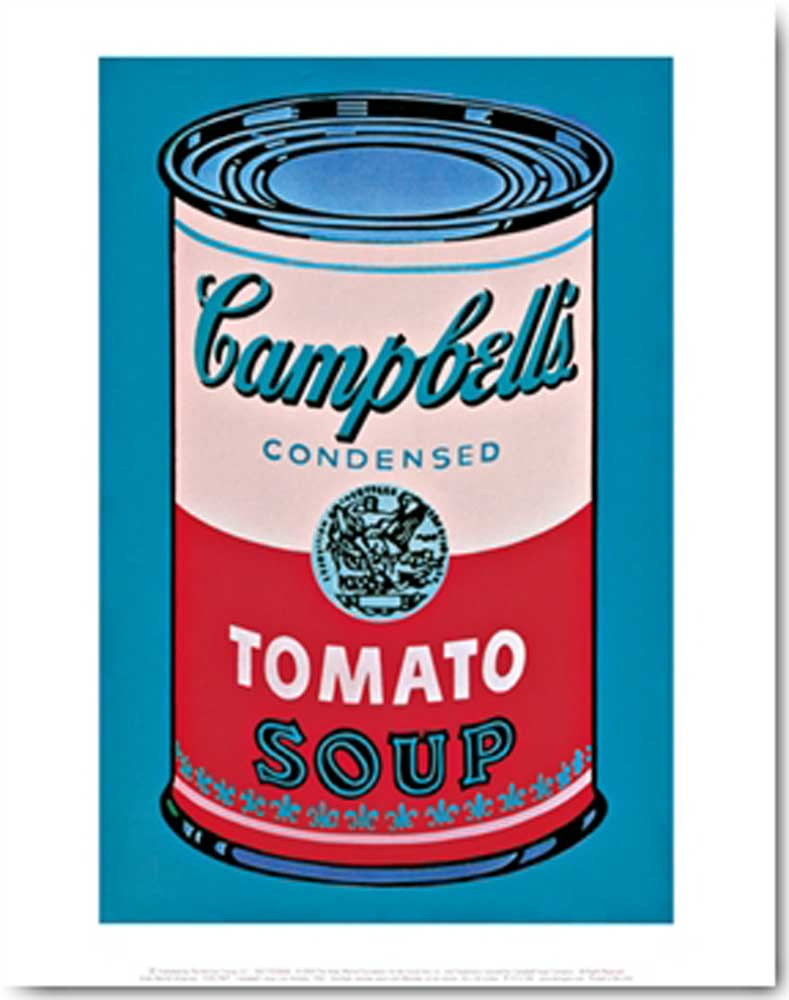 andy warhol campbell s soup can tomato iii. Black Bedroom Furniture Sets. Home Design Ideas