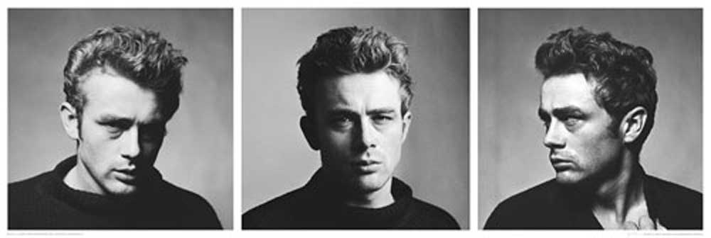 james dean triptychon slim poster 91 5x30 5. Black Bedroom Furniture Sets. Home Design Ideas