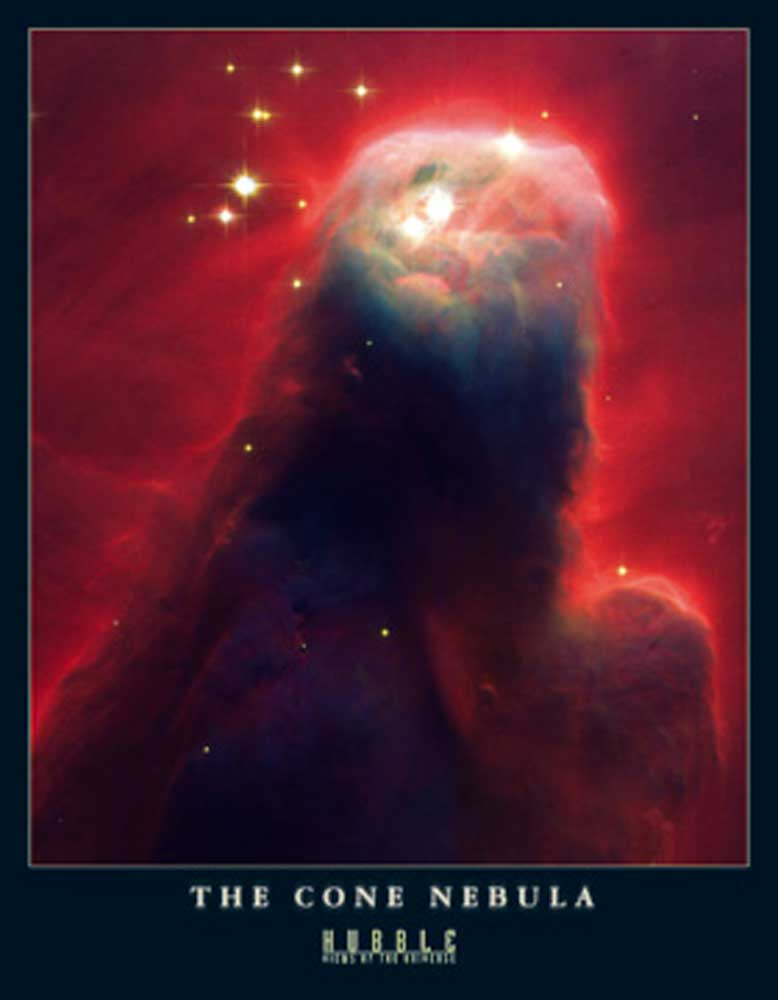 Hubble-Nasa - Giclee-Druck - The Cone Nebula