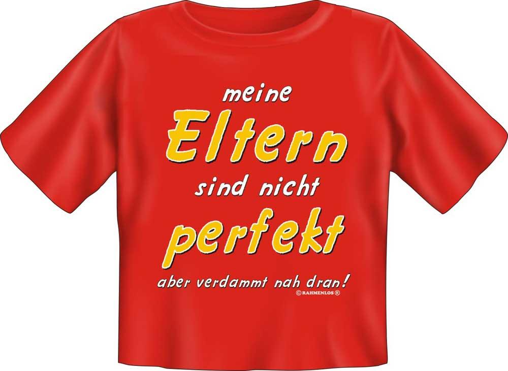nicht perfekt Meine Eltern - Textilien - Baby-Shirt