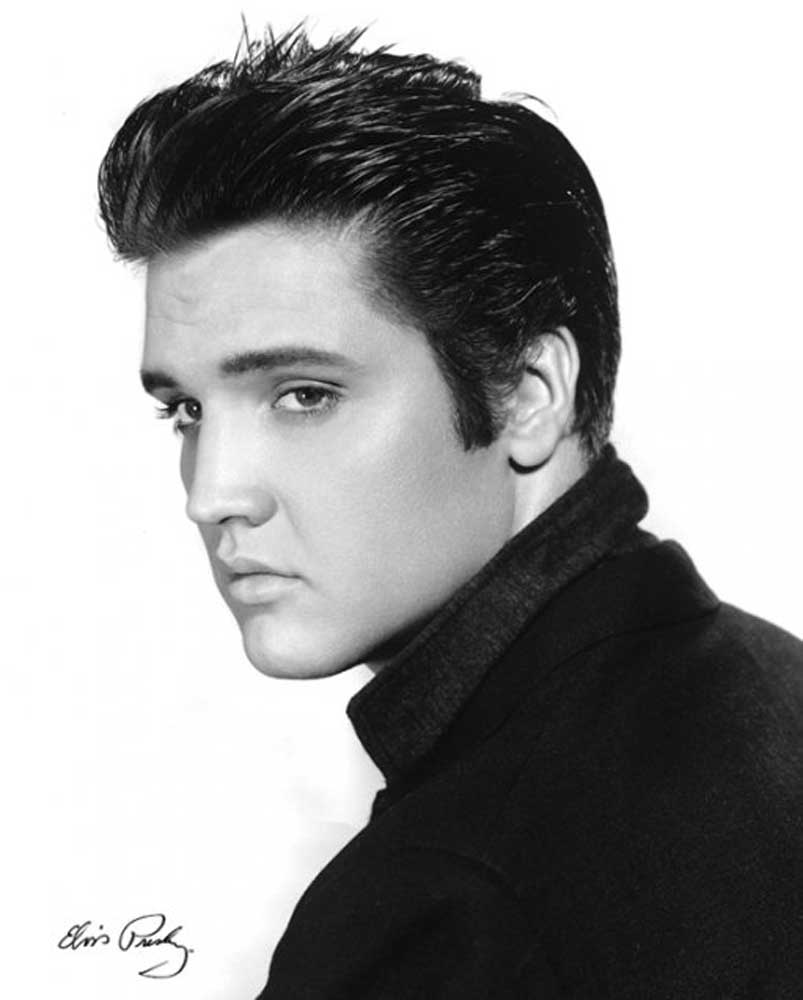elvis presley portrait mini poster 40x50. Black Bedroom Furniture Sets. Home Design Ideas