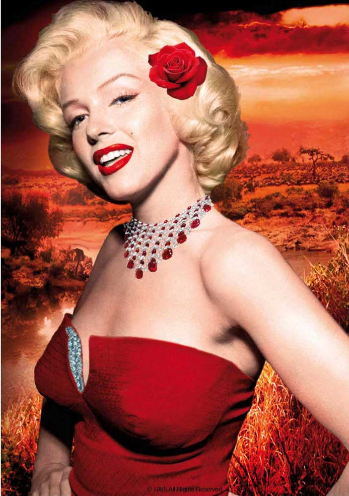Marilyn Monroe - Poster - Red Dress
