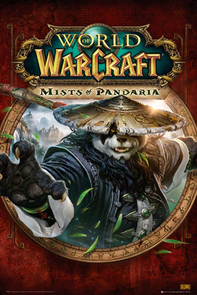 World of Warcraft - Poster - Mists Of Pandaria Cover