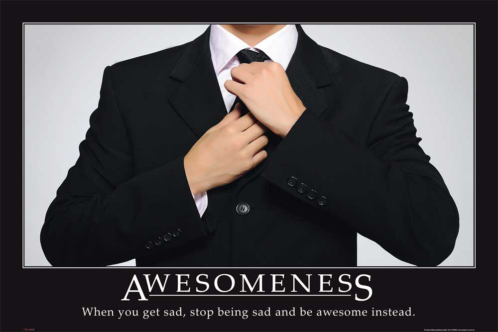 Motivational - Poster - Awesomeness Suit