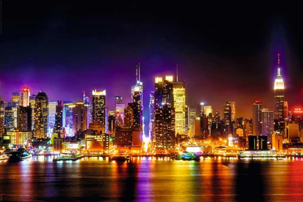 Buddha ich liebe New York Akt
