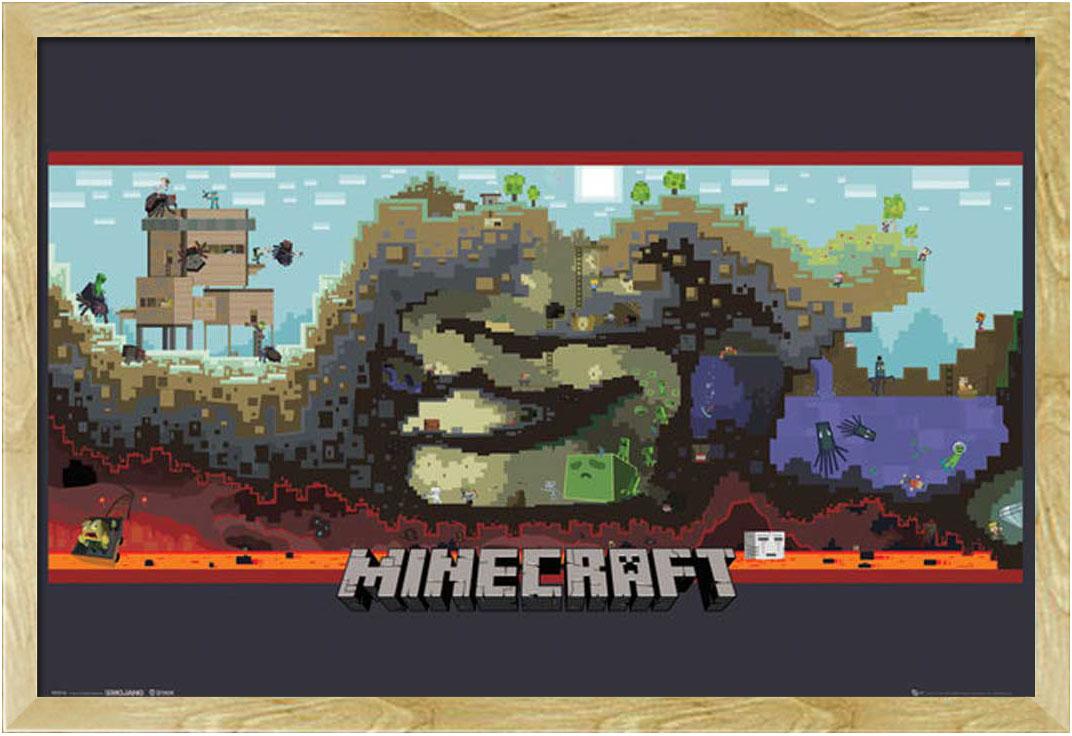 Minecraft - Underground - Poster - 91,5x61