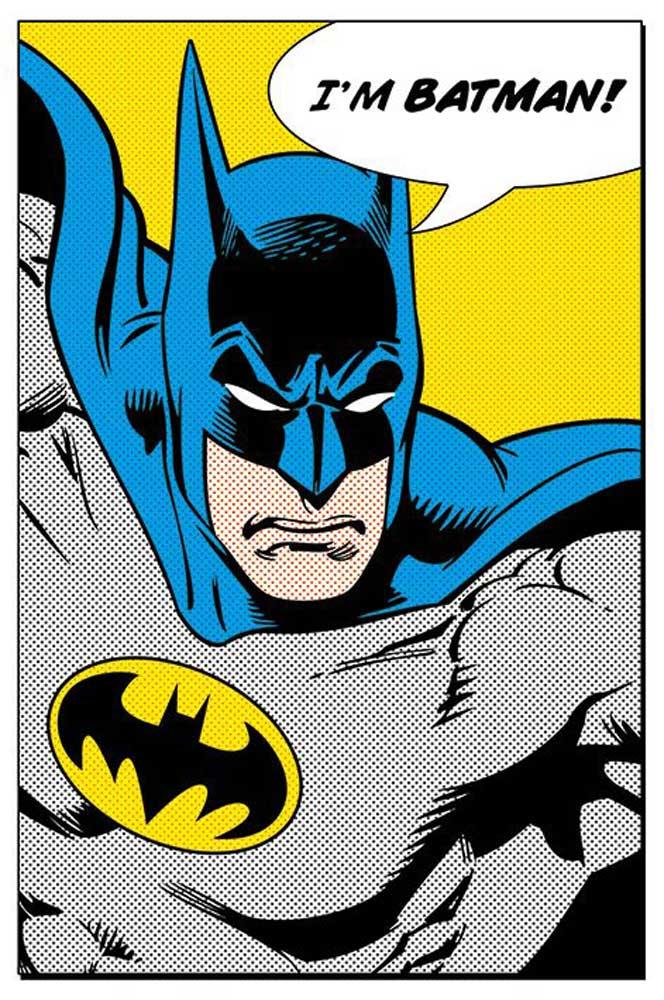 Dc Comics - Batman - I am batman - Poster - 61x91,5