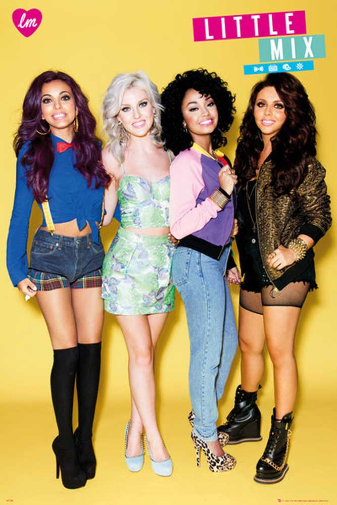 Little Mix - Poster - Group