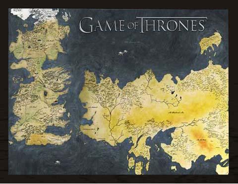 Game Of Thrones Landkarte