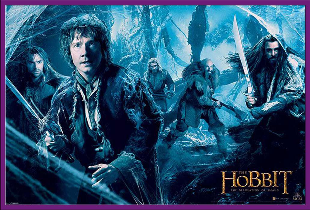 Hobbit movie poster shop