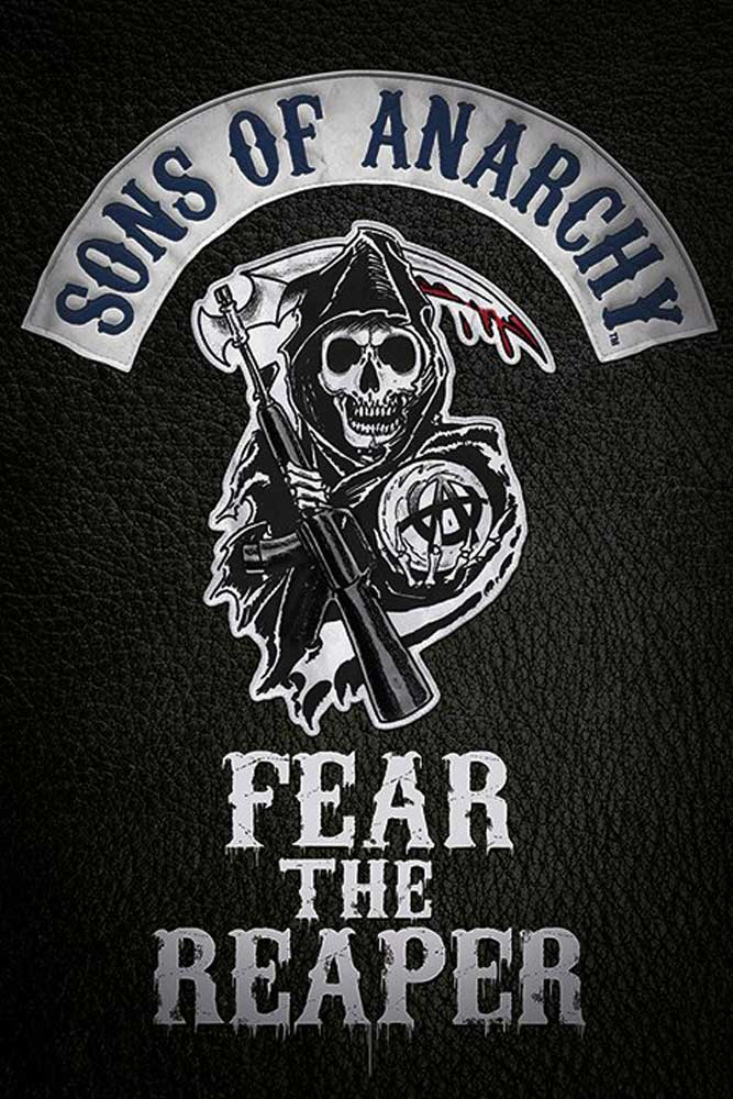 Sons of Anarchy - Poster - Fear the reaper