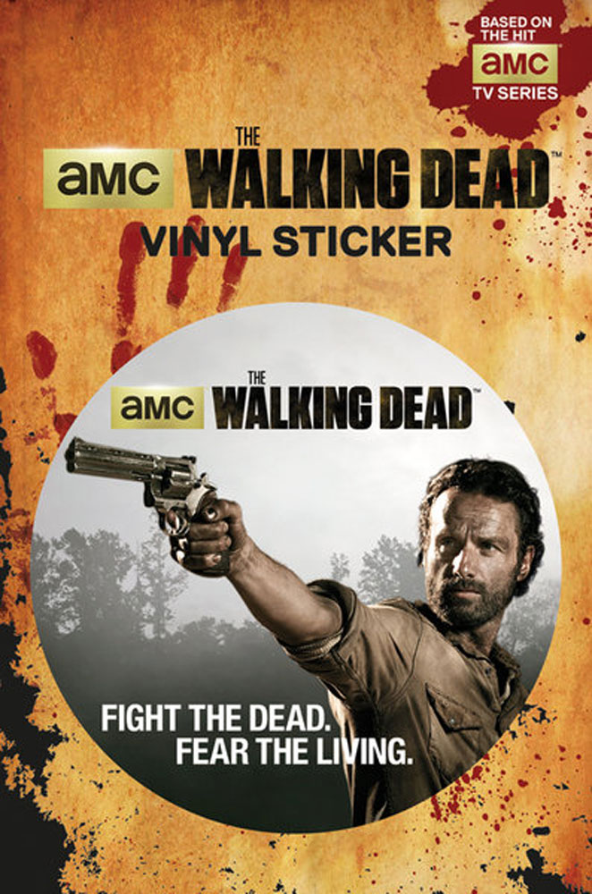 The Walking Dead - Sticker - Rick