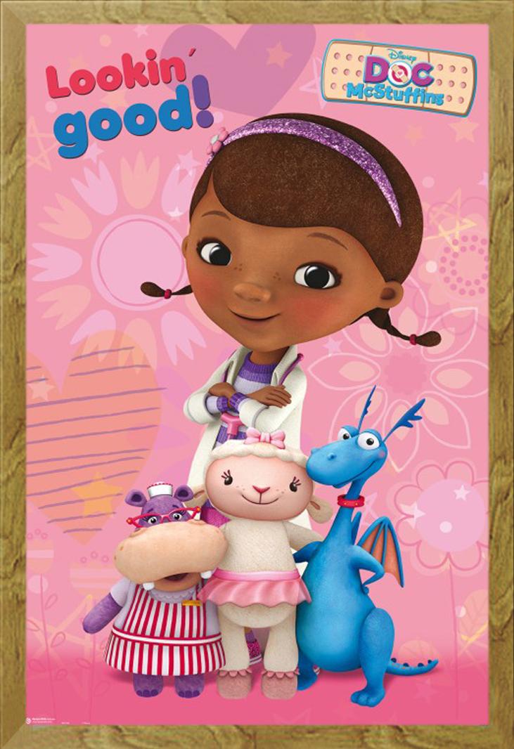 Doc McStuffins-doctora Juguetes Poster Poster-Size 61x91,5 cm
