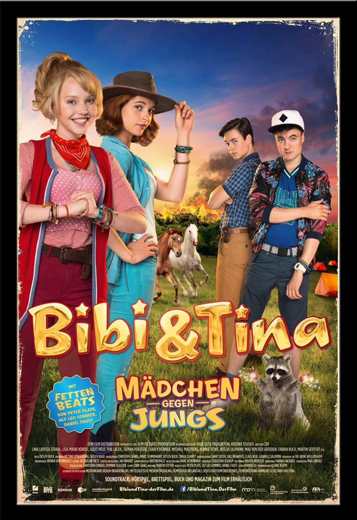 bibi tina m dchen gegen jungs poster 61x91 5