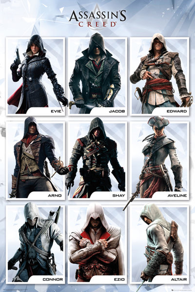 Assassins Creed - Poster - Syndicate Compilation