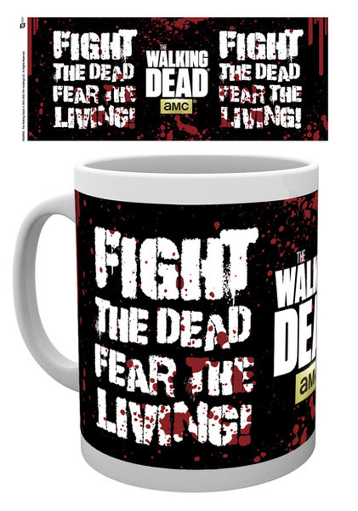 Walking Dead - Lizenz Tassen - Fight The Dead